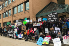 Protestors_at_Waterloo_City_Hall_March