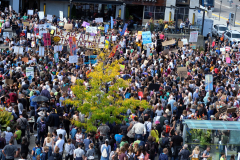 2019-09-27 Climate Strike, Waterloo Town Square, Waterloo, Ontario. Photo by Doug Wicken